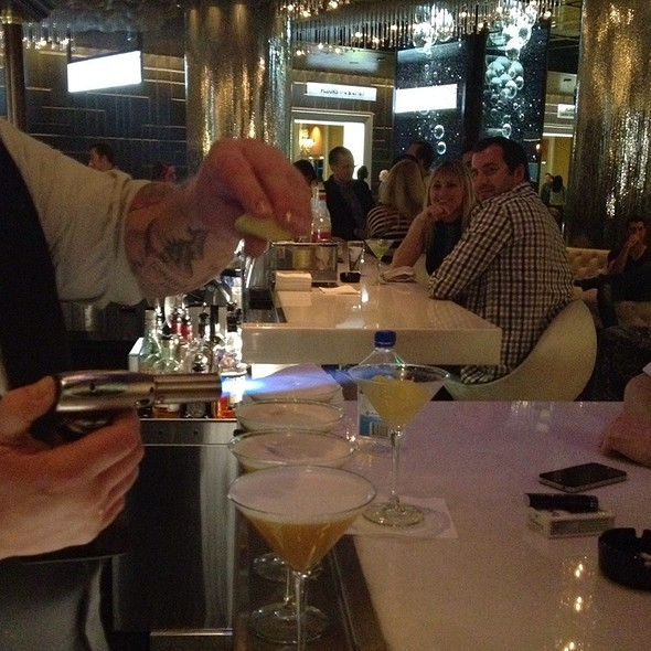Ginger Sidecars @ Vesper Bar at the Cosmopolitan