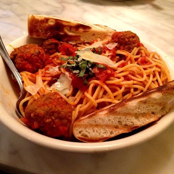 Spaghetti and Meatballs @ Little Azio