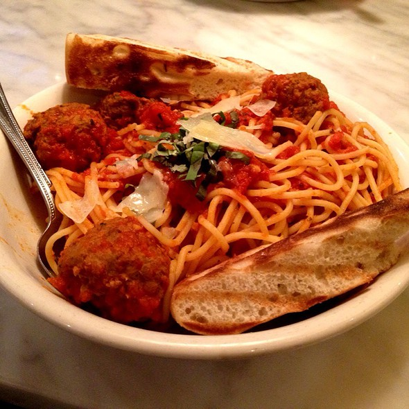 Spaghetti and Meatballs @ Little Azio