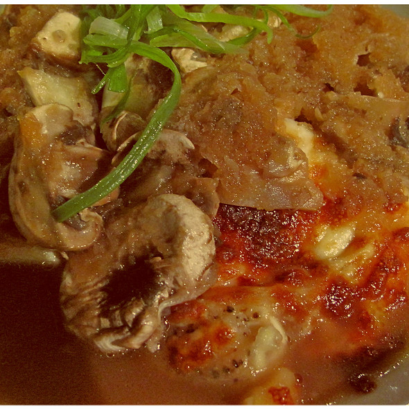 Tofu Cheese Steak @ Gochi Japanese Fusion Tapas