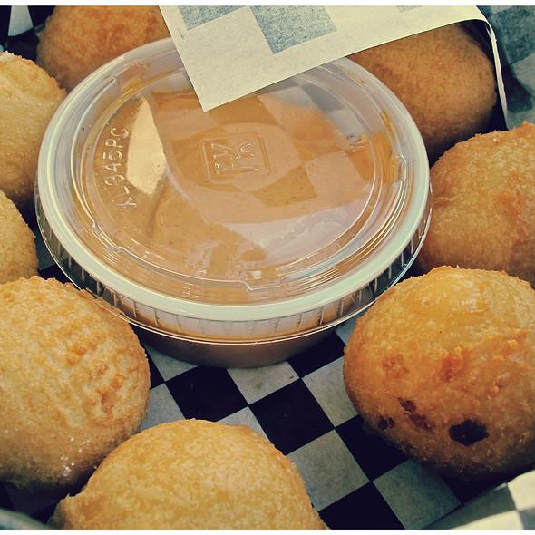 Crispy Potato Puffs @ Gregoire