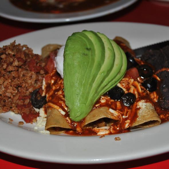 Vegan Enchilada  @ Chicago Diner