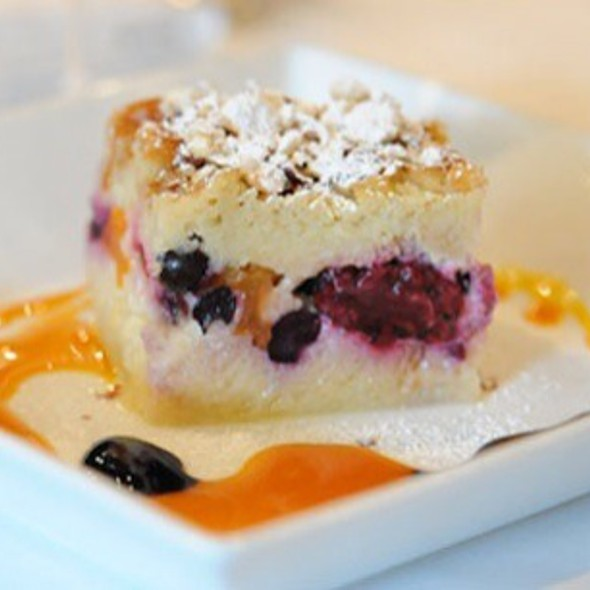 Season's Berries And Kumquats Bread Pudding @ Rue Saint Jacques Restaurant