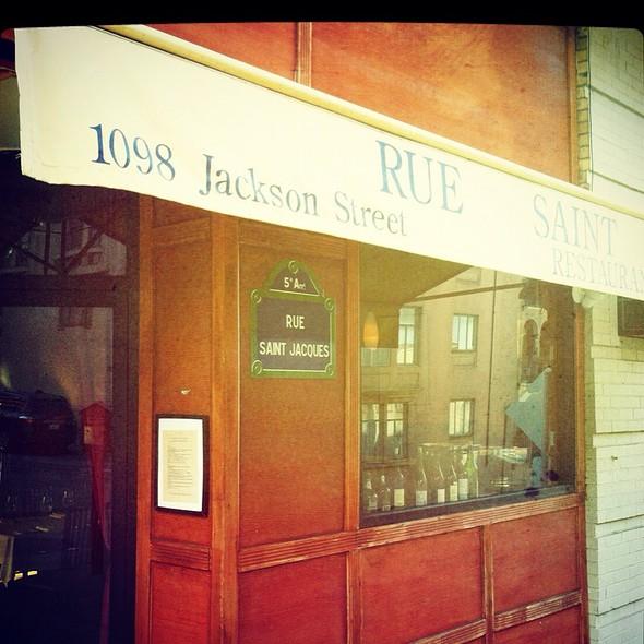 Rue Saint Jacques @ Rue Saint Jacques Restaurant