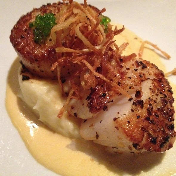 Pan Seared Scallops  - Trattoria Divina, Hilton Head Island, SC