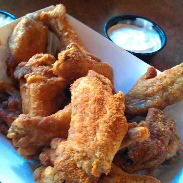 Dry Fried Chicken Wings @ Buffalo Wild Wings Grill & Bar