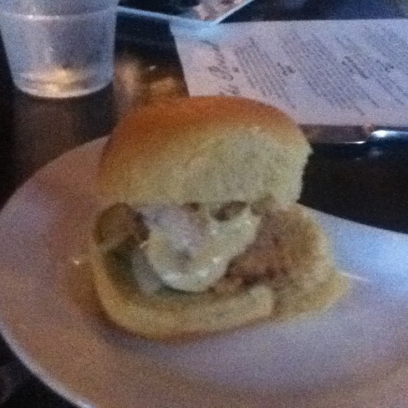 Fried Chicken Sliders @ The Roosevelt