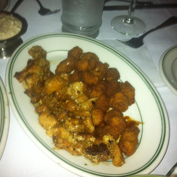 Fried & Grilled Alligator - Poor Boy's Riverside Inn, Broussard, LA