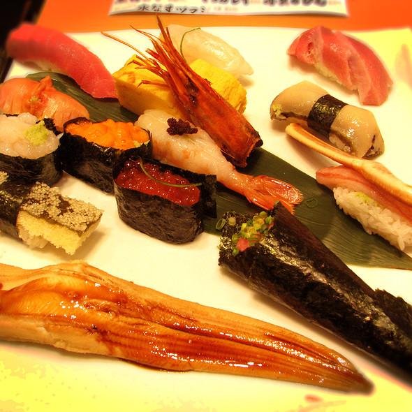 Sushi Set @ Midori Sushi