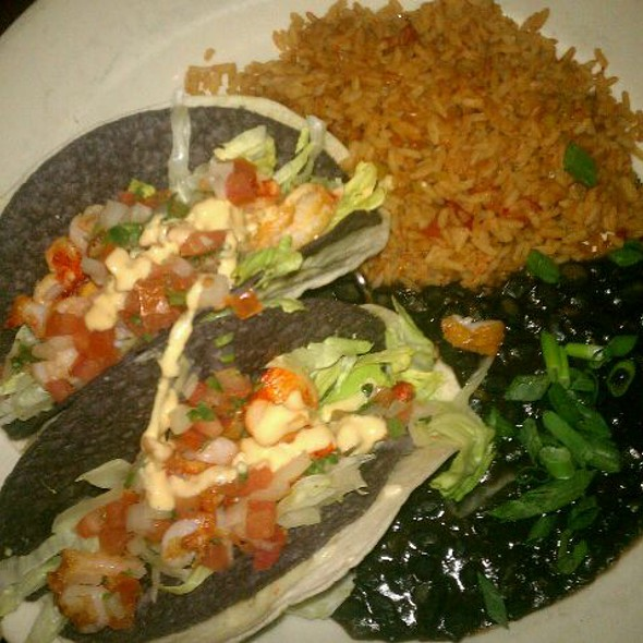 Shrimp And Lobster Tacos - Rock Bottom Brewery Restaurant - Yorktown, Lombard, IL