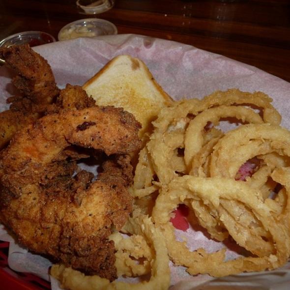 Fried shrimp @ Sha Sha's of Creole