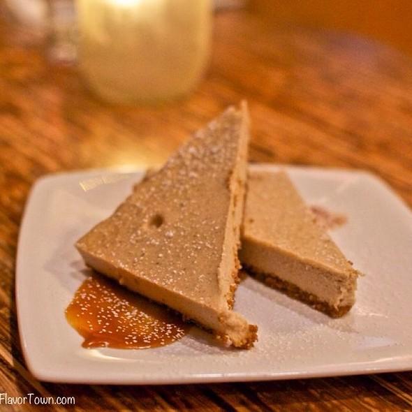 Cinnamon Bun Cheesecake - The Refinery, Vancouver, BC