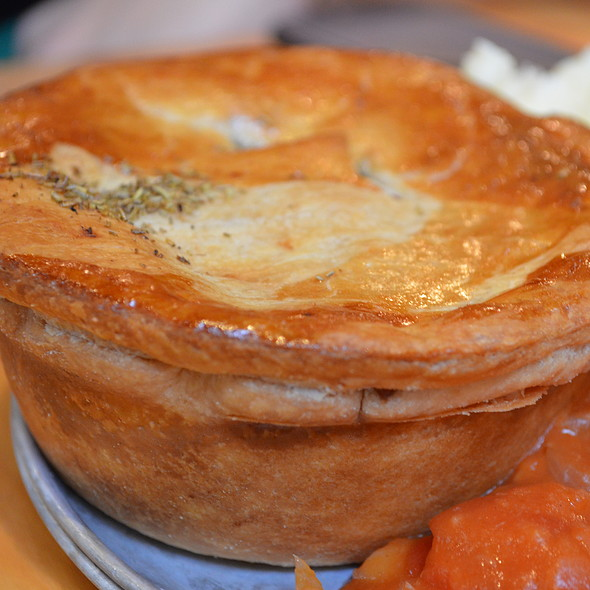 Lamb And Rosemary Pie @ The Pie Tin