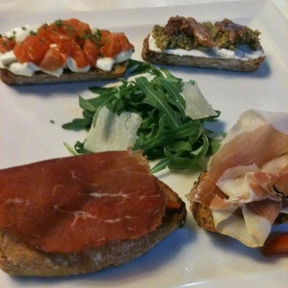 Assorted Bruschetta @ Baracca
