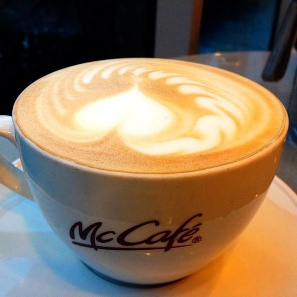 McCafe Latte @ Mcdonald's