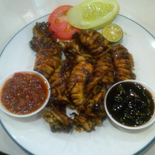 Cumi Cumi Bakar @ Bagan Seafood