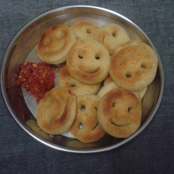 Potato Smileys @ Akruti Orchid Park