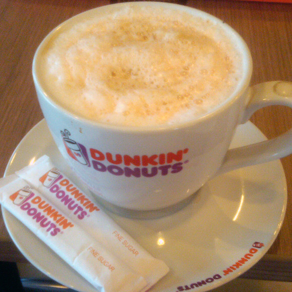 Cafe Latte Hazelnut @ Dunkin Donuts Rest Area 62