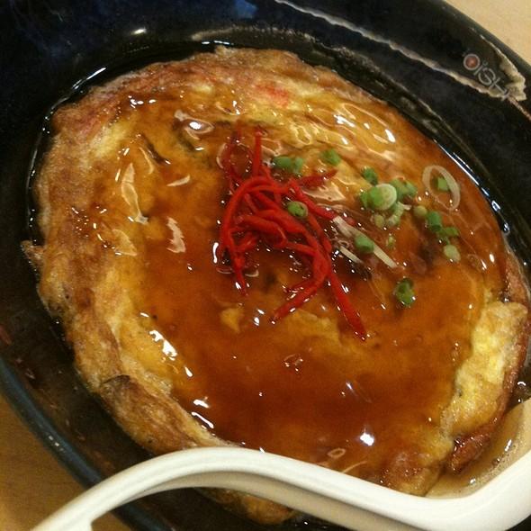 Omelette Ramen @ oishi ramen