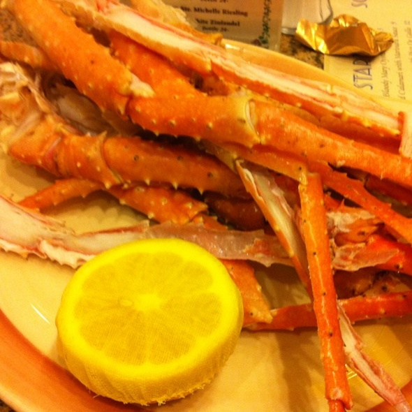 Crab Legs @ Big Sur Oyster Bar