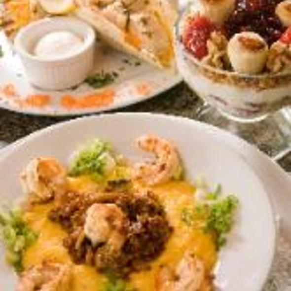 Shrimp & Grits @ The Cottage Cafe, Bakery & Tea Room