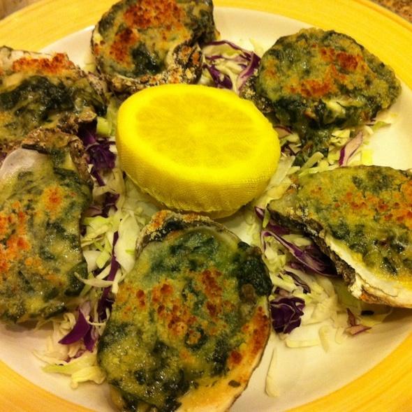 Oysters Rockefeller @ Big Sur Oyster Bar