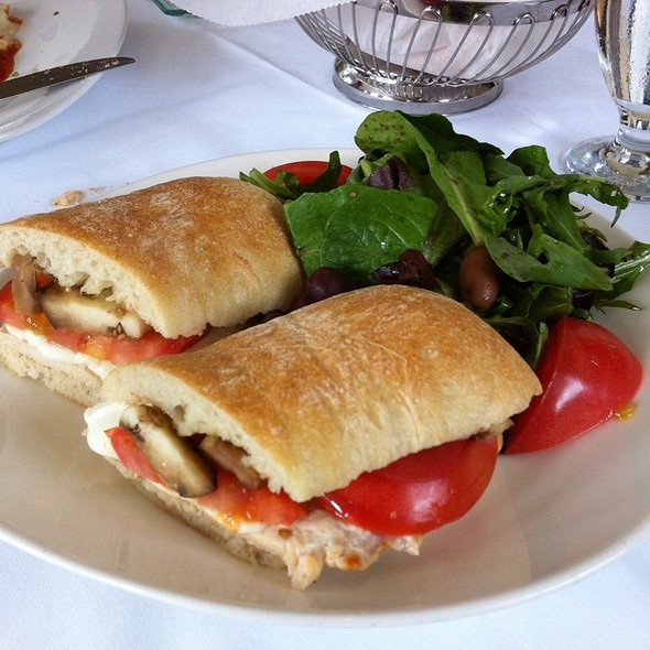 chicken panini @ Trevini Ristorante