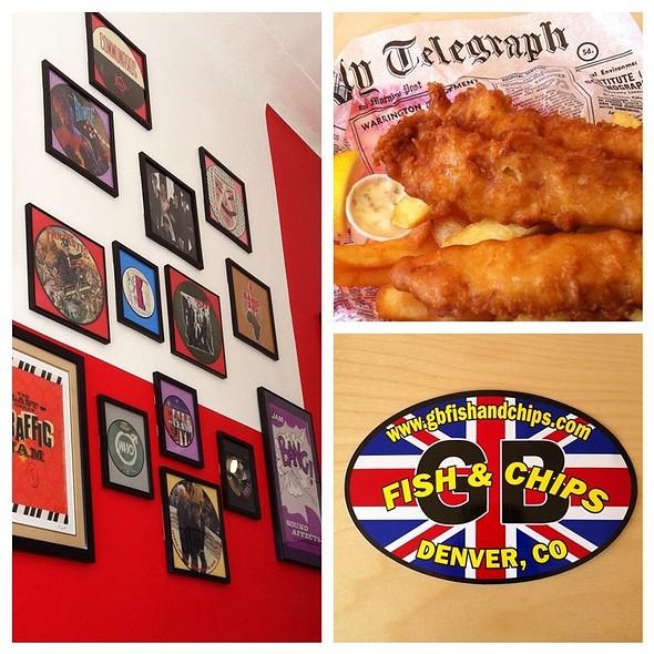 Fish & Chips @ GB Fish & Chips