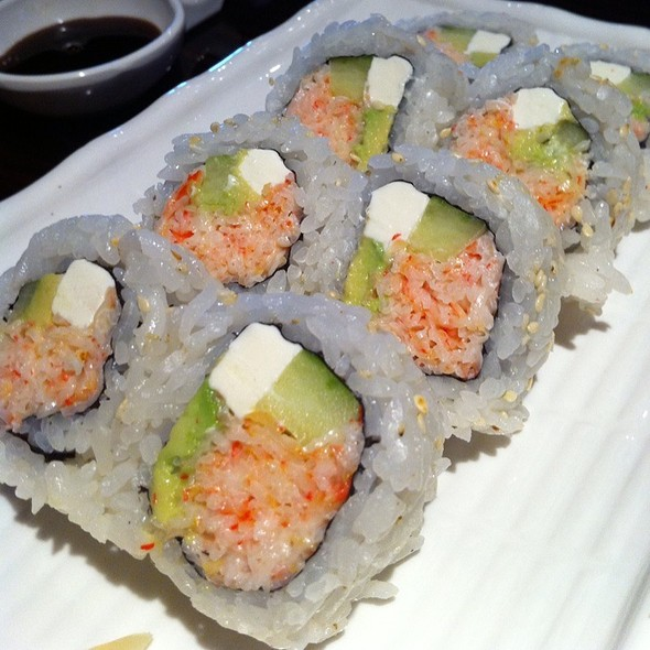 California Roll With Cream Cheese @ Green Tea House