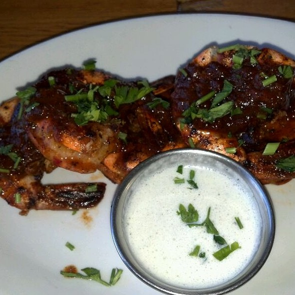 Jamaican Jerk Shrimp @ Spice Island Grill