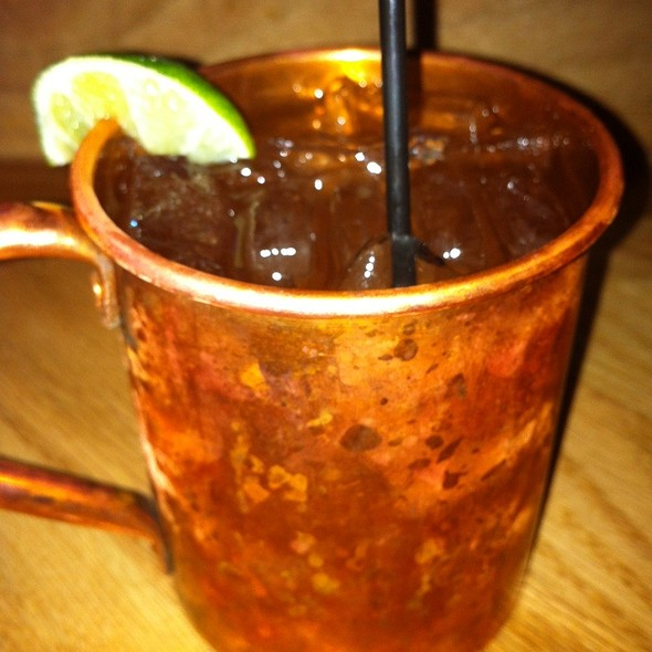Moscow Mule @ Uncle Mikes Highway Pub, Kenosha Wisc