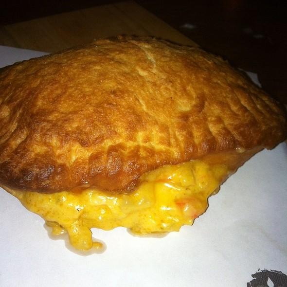 Crawfish Bread  @ Monarch Restaurant