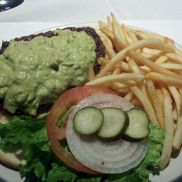 Guacamole Burger @ Bottom Line Saloon