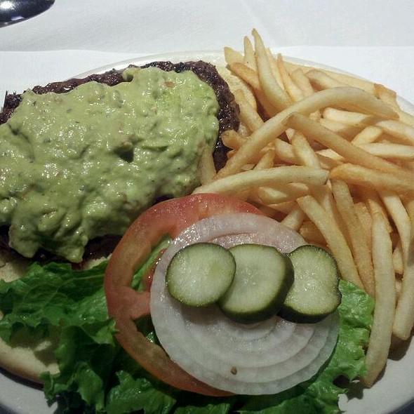 Guacamole Burger @ Bottom Line Saloon