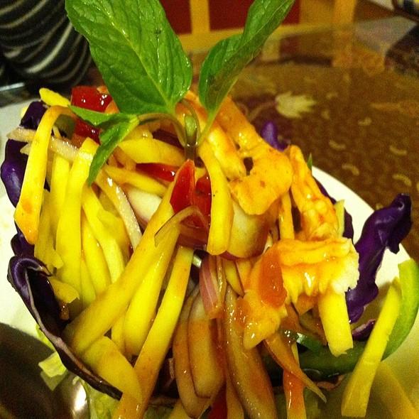 Shrimp Mango Salad @ Layang Layang Malaysian