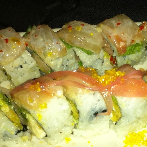 Sea Bream And Paradise Rolls @ Kenichi Austin Lp