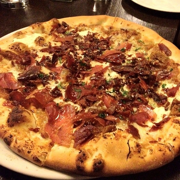 Fig And Crispy Proscuitto Pizza @ Osteria Marco