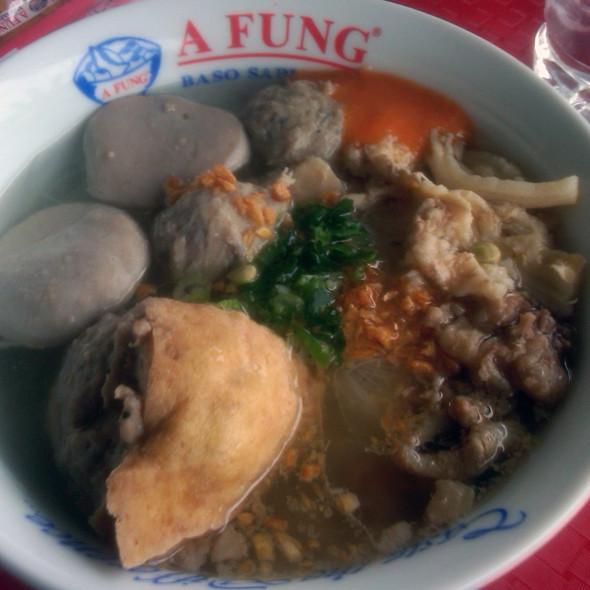 Baso Tahu @ A Fung - Giant CBD Bintaro