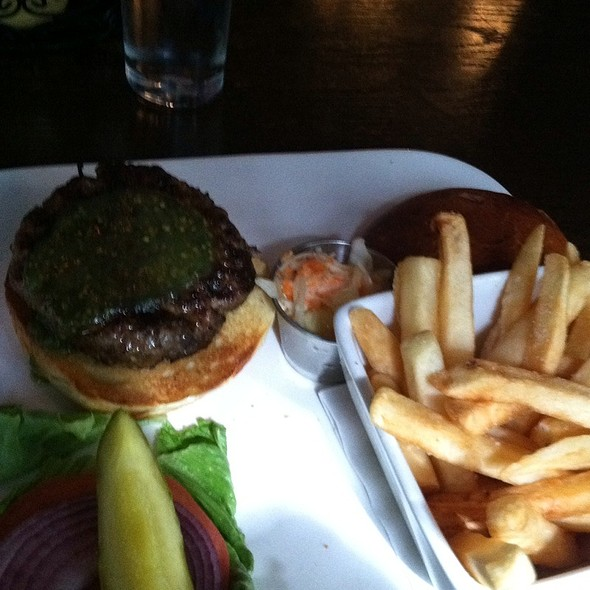 Lamb Burger With Fries - The Ainsworth, New York, NY