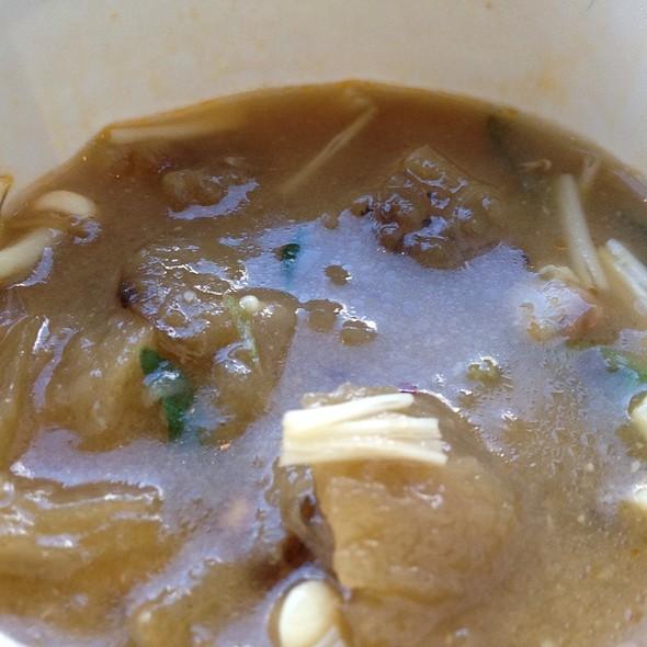 Miso Eggplant Soup @ Porchetta & Co.