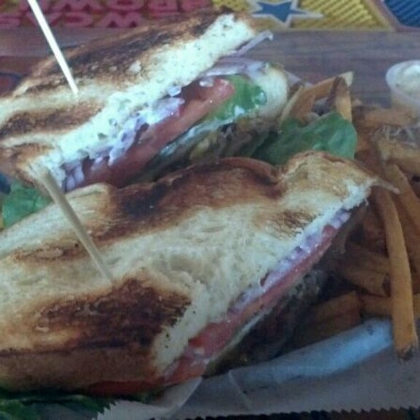 Duck Club Sandwich @ The Tattooed Moose