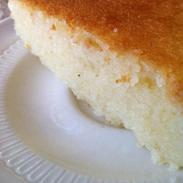 Ravani Dessert / Semolina Cake @ Atomic Pizzeria