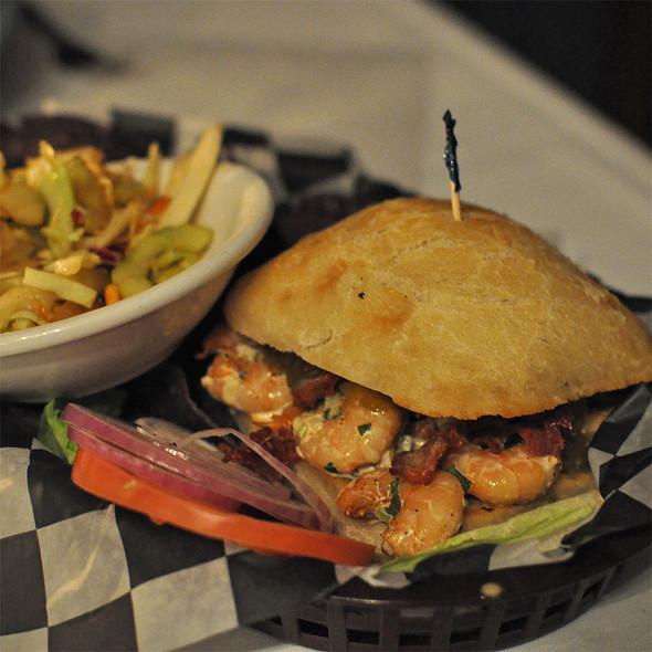 Shrimp Salad Sandwich @ Dajio Restaurant