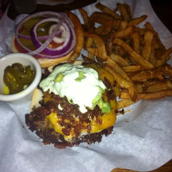 Border Burger At Flips Patio Grill