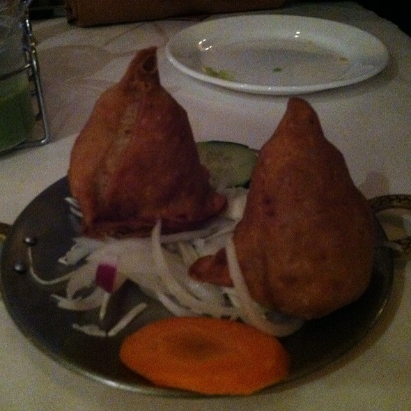 Veg Samosas @ chicago curry house indian cuisine