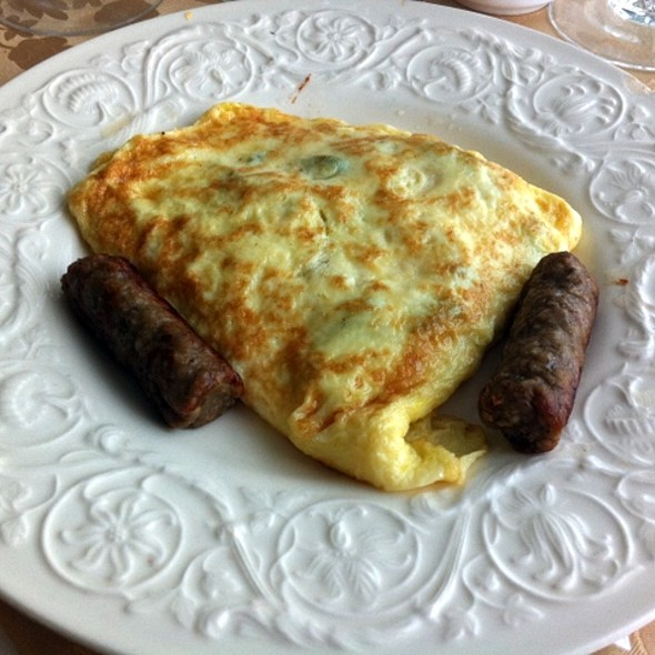 Sausage And Cheese Omelette