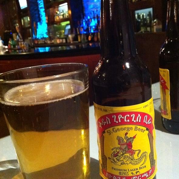 St. George Ethiopian Beer - Addis Ethiopian, Richmond, VA