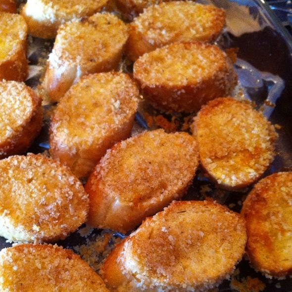 Crispy Orange Baked French Toast @ Casa di Giovagnoni
