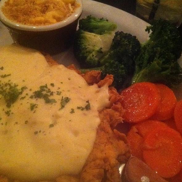 Chicken Fried Chicken @ Moonshine Patio Bar & Grill