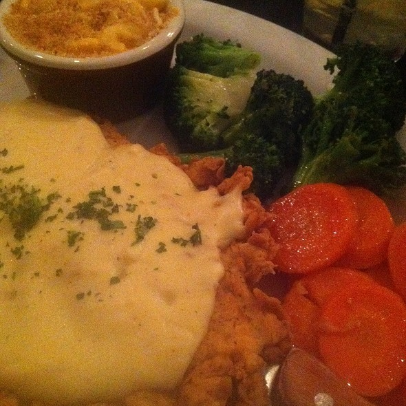 Chicken Fried Chicken @ Moonshine Patio Bar & Grill